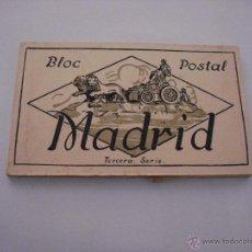 Postales: MADRID TERCERA SERIE. BLOC POSTAL. 12 POSTALES. Lote 45169455