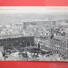 Postales: ANTIGUA POSTAL DE MADRID. VISTA PARCIAL. FOTPIA. HAUSER Y MENET. ESCRITA. Lote 45194148