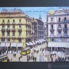Postales: POSTAL MADRID. PUERTA DEL SOL. . Lote 45409292