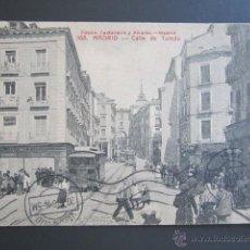 Postales: POSTAL MADRID. CALLE DE TOLEDO. CIRCULADA. AÑO 1914. . Lote 45426556
