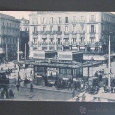 Postales: POSTAL MADRID. PUERTA DEL SOL. . Lote 45477881