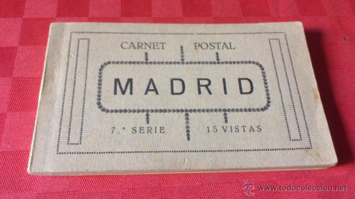 CARNET POSTAL MADRID 7ª SERIE 15 VISITAS (Postales - España - Madrid Moderna (desde 1940))