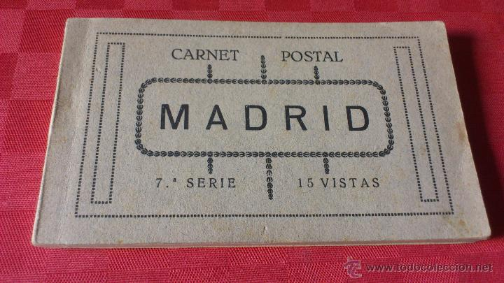 Postales: Carnet postal Madrid 7ª serie 15 visitas - Foto 6 - 45482146
