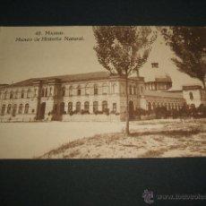 Postales: MADRID MUSEO DE HISTORIA NATURAL. Lote 45577896