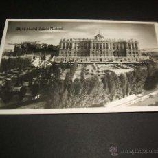 Postales: MADRID PALACIO NACIONAL. Lote 45625307