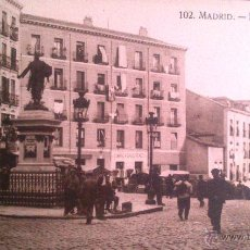 Postales: MADRID, RIBERA DE CURTIDORES, HELEOTIPIA. Lote 45722197