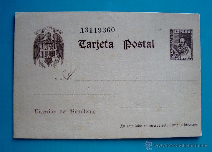 ENTERO POSTAL CERVANTES EDIFIL 83 (Postales - España - Comunidad de Madrid Antigua (hasta 1939))