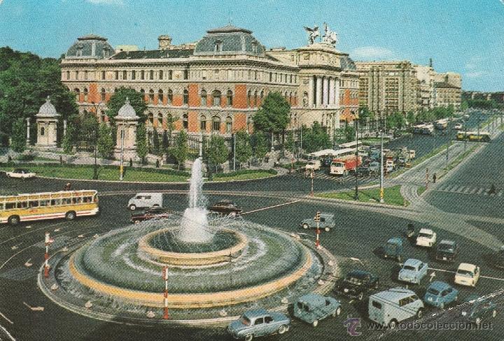 Nº 13926 POSTAL MADRID PLAZA DE CARLOS V Y FUENTE (Postales - España - Madrid Moderna (desde 1940))