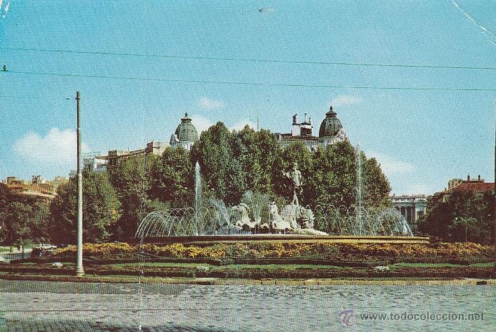 Nº 13931 POSTAL MADRID FUENTE DE NEPTUNO (Postales - España - Madrid Moderna (desde 1940))