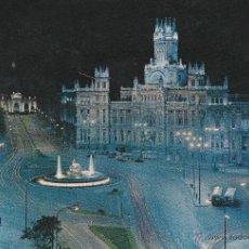 Postales: Nº 13933 POSTAL MADRID CIBELES PALACIO DE COMUNICACIONES Y ALCALA. Lote 45775945