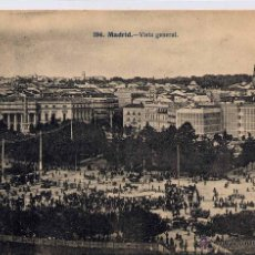 Postales: MADRID.- VISTA GENERAL. Lote 45791947