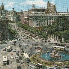 Postales: Nº 14305 POSTAL PLAZA DE CIBELES Y CALLE DE ALCALA MADRID. Lote 45828879
