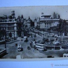 Postales: POSTAL ANTIGUA. MADRID. CALLE DE ALCALA DESDE CIBELES. Lote 46096828