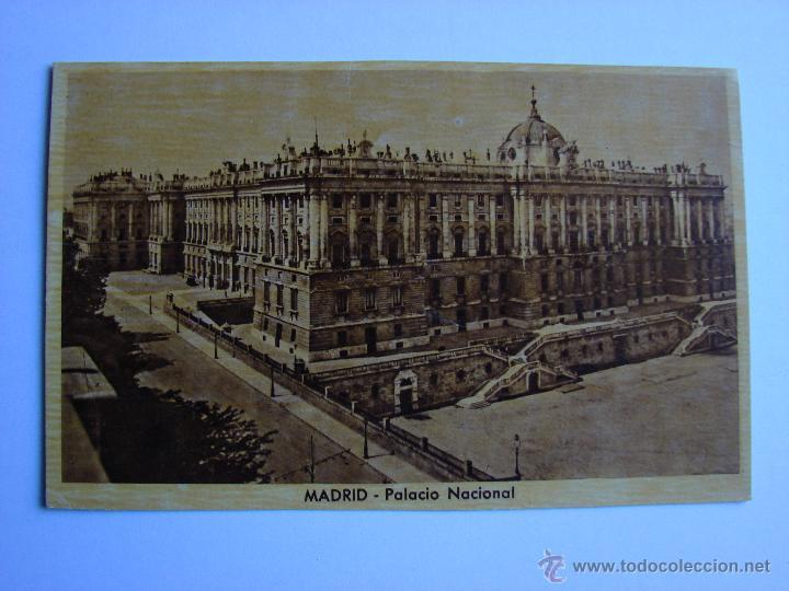 POSTAL ANTIGUA. MADRID. PALACIO NACIONAL (Postales - España - Comunidad de Madrid Antigua (hasta 1939))