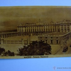 Postales: POSTAL ANTIGUA. MADRID. PALACIO NACIONAL. Lote 46099523