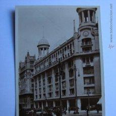 Postales: POSTAL ANTIGUA. MADRID. GRAN VIA ALMACENES DE MADRID-PARIS. Lote 46098283