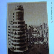 Postales: POSTAL ANTIGUA. MADRID. AVENIDA DE JOSE ANTONIO Y CAPITOL. Lote 46099549