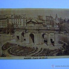 Postales: POSTAL ANTIGUA. MADRID. PUERTA DE ALCALA. Lote 46099561