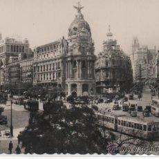 Postales: MADRID Nº 1 .- CALLE ALCALA Y AVENIDA JOSE ANTONIO .- EDICION AFRODISIO AGUADO .- GARRABELLA. Lote 46134420
