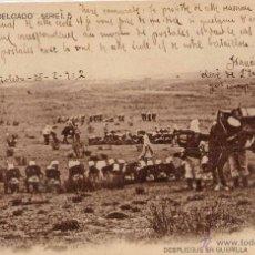 Postales: MADRID.- MANIOBRAS MILITARES DE CARABANCHEL .-1901-DESPLIEGUE EN GUERRILLA. Lote 46181439