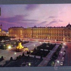 Postales: MADRID. PLAZA DE ORIENTE Y PALACIO REAL. Lote 46237342