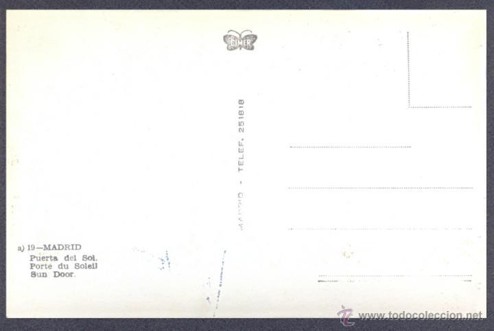Postales: MADRID. PUERTA DEL SOL - Foto 2 - 46237425