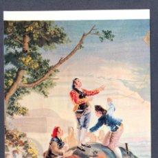 Postales: EL ESCORIAL. PALACIO. LA COMETA ( GOYA ). TAPIZ S. XVIII. Lote 46294117