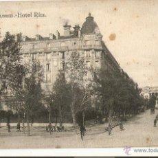 Postales: POSTAL - HOTEL RITZ - MADRID - 36 EDICIONES GRAPHOS MADRID. Lote 46521278