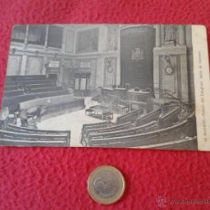 Postales: ANTIGUA POSTAL Nº 66 MADRID PALACIO DEL CONGRESO SALON DE SESIONES FOTO LACOSTE - MADRID ESCASA. Lote 46528113