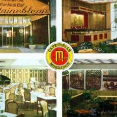 Cartes Postales: MADRID RESTAURANTE FONTAINEBLEAU DE MORRISON. Lote 46571435