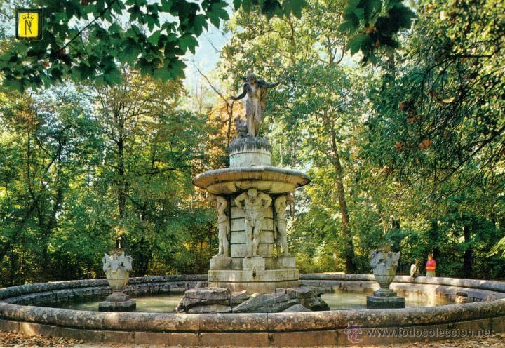 Aranjuez jardin del principe fuente de diana ca comprar postales de madrid en todocoleccion - Fuentes de jardin de segunda mano ...