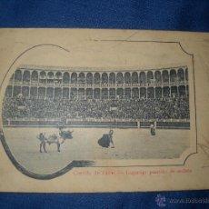 Postales: ANTIGUA POSTAL DE CORRIDA DE TOROS-LAGARTIJO PASANDO LA MULETA.. Lote 46601594
