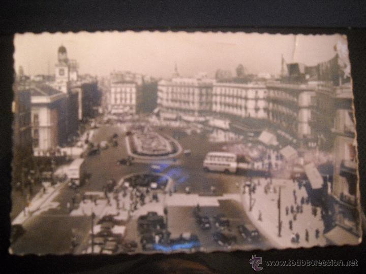 POSTAL MADRID ,PUERTA DEL SOL. (Postales - España - Comunidad de Madrid Antigua (hasta 1939))