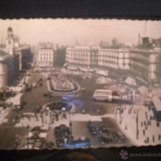 Postales: POSTAL MADRID ,PUERTA DEL SOL.. Lote 46602266