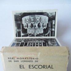 Postales: ACORDEON EL MONASTERIO DE EL ESCORIAL, 24 TARJETAS POSTALES. PRIMERA SERIE. Lote 40570340
