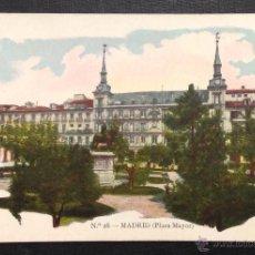 Postales: MADRID. PLAZA MAYOR. (Nº 28, JOSÉ BLASS Y CÍA). Lote 46659072
