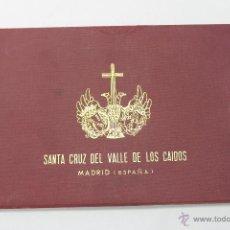 Postales: ESTUCHE CON POSTALES, SANTA CRUZ DEL VALLE DE LOS CAIDOS, MADRID AÑOS AÑOS 60- 70. Lote 46721740