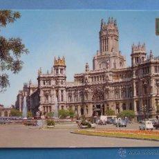 Postais: POSTAL DE MADRID. AÑO 1970. PALACIO DE COMUNICACIONES Y CIBELES. 70. Lote 46792919