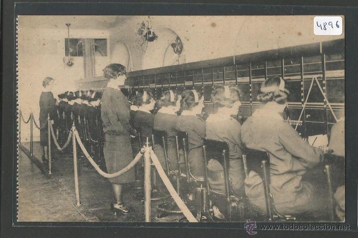 COMPAÑIA TELEFONICA - CUADRO INTERURBANO INSTALADO EN LA NUEVA CENTRAL DE HORTALEZA - P4896 (Postales - España - Comunidad de Madrid Antigua (hasta 1939))