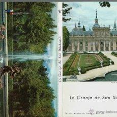 Postales: BLOC DE 10 POSTALES DE MADRID - LA GRANJA - MAS LIBRILLO INFORMATIVO. Lote 47065016