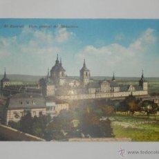 Postales: POSTAL MONASTERIO EL ESCORIAL CIRCULADA MADRID . Lote 47173512