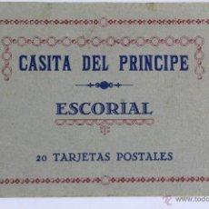 Postales: BP-8. BLOCK 20 TARJETAS POSTALES LA CASITA DEL PRINCIPE. ESCORIAL. MADRID. AÑOS 30.. Lote 47202755