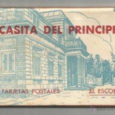 Postales: EL ESCORIAL .- CASITA DEL PRINCIPE BLOC DE 20 POSTALES .- EDICION HAUSER MENET. Lote 47260960
