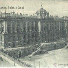Postales: MADRID PALACIO REAL ESCRITA. Lote 47287143