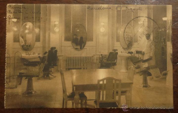 PELUQUERÍA. MADRID. CIRCULO DE BELLAS ARTES. A. PALACIOS, ARQUITECTO. (HAUSER Y MENET) (Postales - España - Comunidad de Madrid Antigua (hasta 1939))