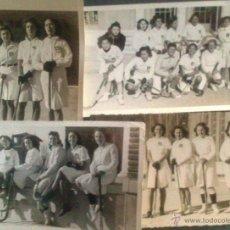 Postales: MADRID, EN EL CAMPO DE LA RESIDENCIA DE ESTUDIANTES, AÑO 1942, EQUIPO FEMENINO DE HOCKEY. Lote 47347687