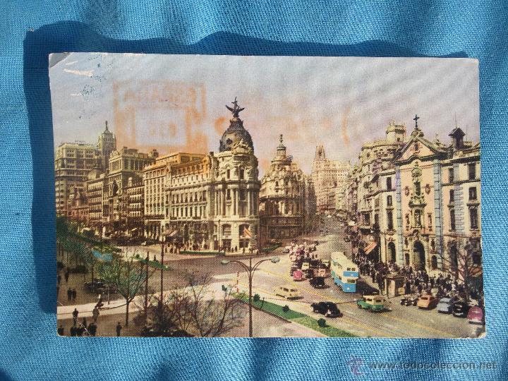 POSTAL AÑO 58 MADRID (Postales - España - Madrid Moderna (desde 1940))