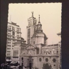 Postales: 95 MADRID C. ALCALÁ. IGLESIA DE LAS CALATRAVAS. GARCÍA GARRABELIA. ZARAGOZA. Lote 47555288