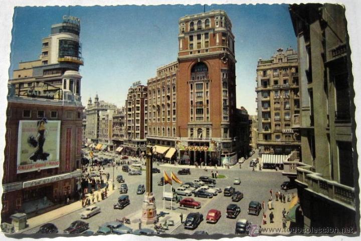 MADRID - AÑOS 60 - ESCRITA (Postales - España - Madrid Moderna (desde 1940))