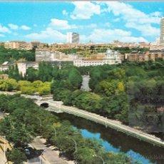 Postales: POSTAL - MADRID - AVENIDA MANZANARES - POSTALES ALCALA - CIRCULADA EN 1981. Lote 47649169